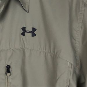 Under Armour Shirts - Under Armour Long Sleeve Loose Button Down Size L